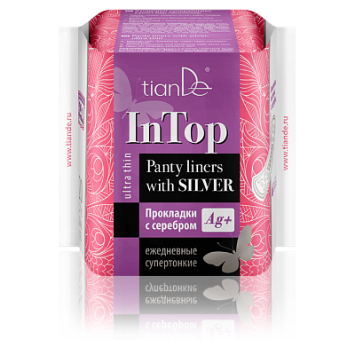 Panty Liners with Silver, Ultra Thin